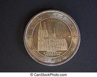 2 euro coin, European Union, Germany