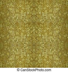 Golden vintage grungy metallic texture