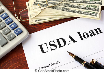 USDA loan form and documents