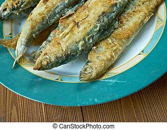 Finnish Fried whitefish - friteeratut muikut - Finnish Fried...