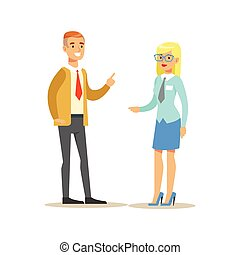 Bank Employee Consulting The Client. Bank Service, Account...