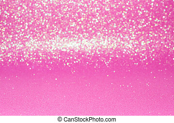Defocused abstract pink glitter with bokeh background - Pink...