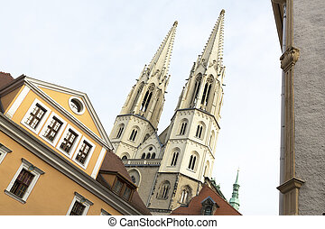 Peterskirche church in the twon of Goerlitz, Germany