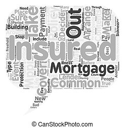 Insurance An Overview text background wordcloud concept