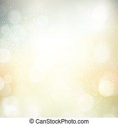 Abstract bokeh blurry light dot background