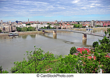 Panorama of Novi Sad city - Panorama of Novi Sad, the second...