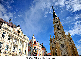 Architecture of Novi Sad city, Serbia