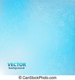 Blue Background Design - Abstract Blue Background, Vector...