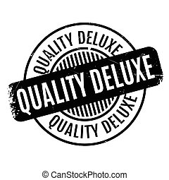 Quality Deluxe rubber stamp. Grunge design with dust...