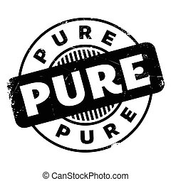 Pure rubber stamp