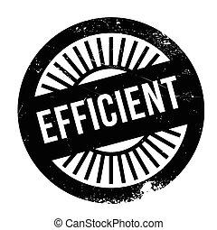 Efficient stamp rubber grunge
