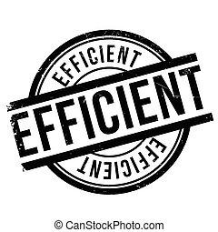 Efficient stamp rubber grunge - Efficient stamp. Grunge...