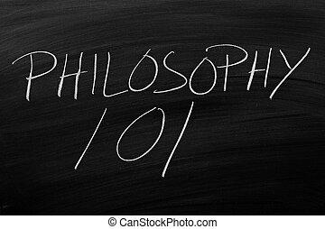 pizarra, filosofía,  101