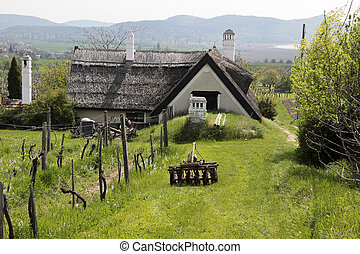 Farmhouse at Lake Balaton - Old farmhouse in Aszofoe at Lake...
