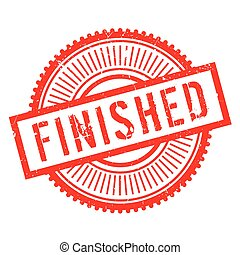 Finished stamp rubber grunge - Finished stamp. Grunge design...