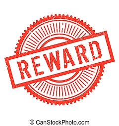 Reward stamp rubber grunge - Reward stamp. Grunge design...