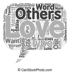 Love is in the Air text background wordcloud concept