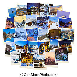 Stack of mountains ski Austria images (my photos) - Stack of...