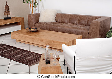 Modern interiors, Luxurious