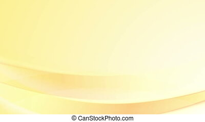 Orange abstract waves video animation - Orange abstract...