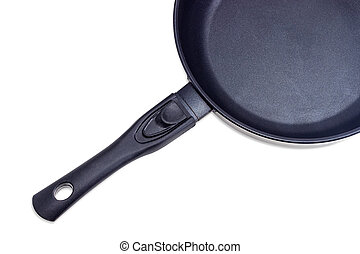 Fragment of frying pan with ceramic non-stick coating -...