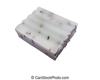 Goat's milk soap with rosemary, handmade