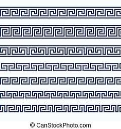 Greek pattern border - grecian ornament