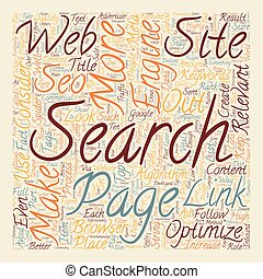 OGSEO how to seo your web page text background wordcloud...