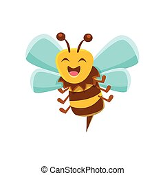 Laughing Bee Mid Air With Sting, Natural Honey Production...