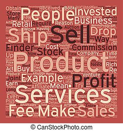 Other People s Products Can Make You Rich text background wordcloud concept