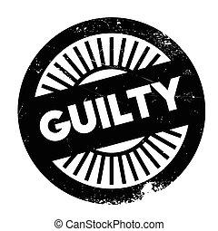 Guilty stamp rubber grunge - Guilty stamp. Grunge design...