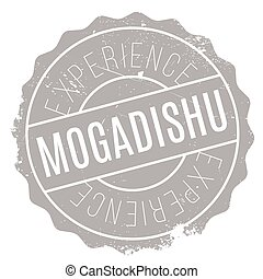 Mogadishu stamp rubber grunge - Mogadishu stamp. Grunge...