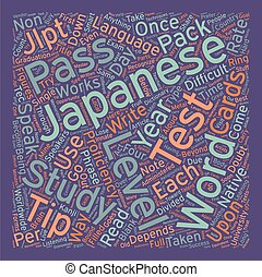 Pass The Japanese Language Proficiency Test Tips text...