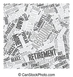 Refinance Mortgage Tips Down Payment From 401k Or 403b Retirement Annuities text background wordcloud concept