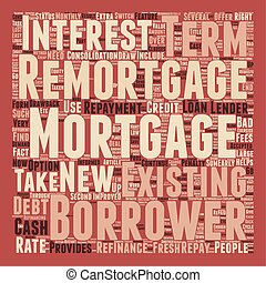 Remortgage to Restart the Mortgage Cycle on Fresh Terms text...