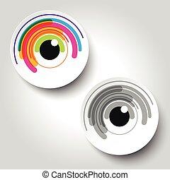 eye color logo