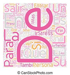 Salir de Compras Terapia Anti Stress text background...