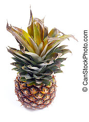 beautiful ripe pineapple tasty tropical fruit as part of a...