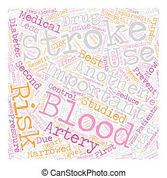 So You ve Had a Stroke Now What text background wordcloud concept