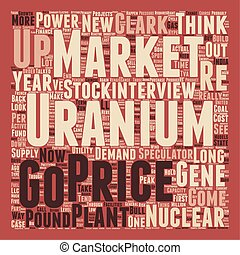 Speculators Could Drive Uranium to Pound text background...