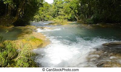 Agua Azul Waterfalls Chiapas Mexico - Agua Azul waterfalls...