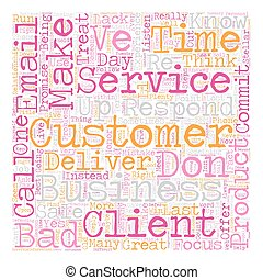 Stellar Customer Service in Simple Steps text background...