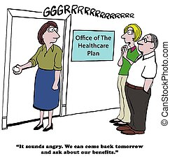 """Worker opens door that leads to boss' ego - """"Careful, that's..."""