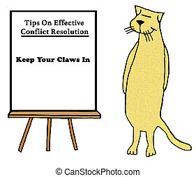 Claws - Cat teachers how to argue