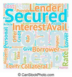 Take Finance at your Terms at Cheap Secured Personal Loan...