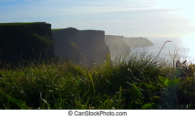 Misty Cliffs of Moher - Overlooking the beautiful and famous...