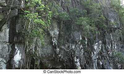 Mouth of the Underground River Cave - Floating towards the...