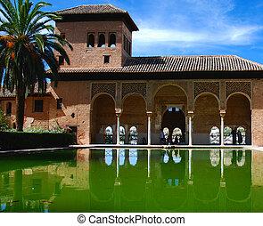 Palacio El Portico, Alhambra