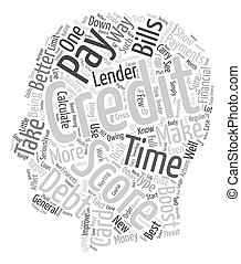 The Best Ways To Boost Your Credit Score text background wordcloud concept