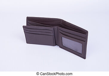 wallet or assorted purse on a background. - wallet or...
